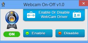 Cómo desactivar la cámara web en un portátil con Windows 10/8/7
