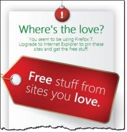 Internet Explorer 9 le desea Felices Fiestas con regalos y más