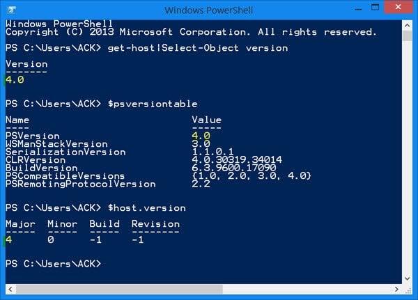 Características y ventajas de la actualización de Windows PowerShell