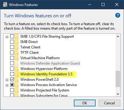 Error del instalador independiente de Windows Update 0x80096002 3