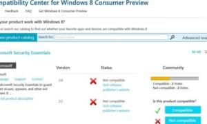 ¿Es compatible con Windows 8? Vote o infórmese en el Centro de compatibilidad de Windows 8