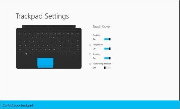 Descargar la aplicación Trackpad Settings App for Surface
