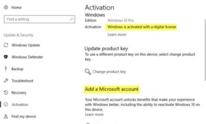 Windows 10 está activado pero sigue pidiendo la activación