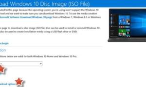 Descargar los últimos archivos de imagen de disco ISO de Windows 10