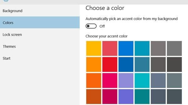 Hacer que la pantalla de inicio de sesión de Windows 10 muestre colores sólidos