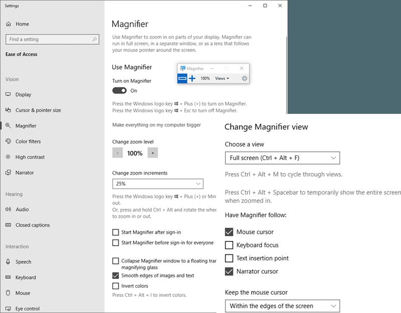 Cómo usar la Lupa de Windows - Consejos y trucos