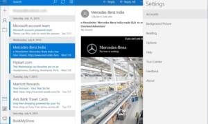 Revisión de la aplicación de Windows 10 Mail