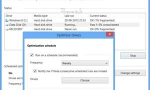 Desfragmentador de disco y optimizador de almacenamiento mejorados en Windows 8/10