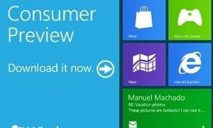 Windows 8 Consumer Preview ya está disponible para descargar