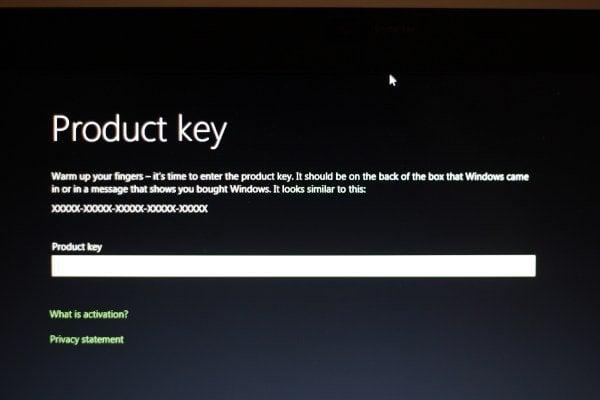Guardar esta clave de serie de la licencia del producto Vista previa del desarrollador de Windows 8