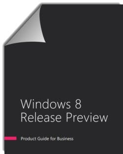 Descargue la Guía del producto de la vista previa de la versión de Windows 8