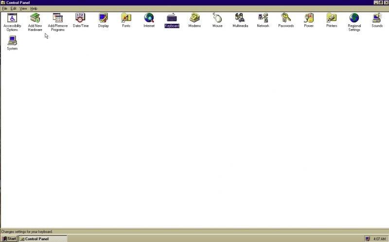Cómo instalar Windows 95 en Windows 10