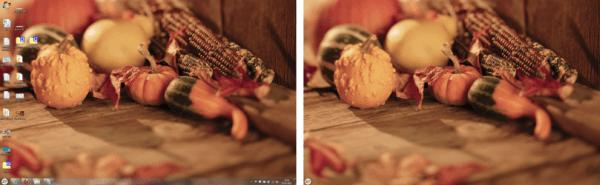 Ocultar automáticamente los iconos del escritorio y la barra de tareas de Windows con AutoHideDesktopIcons 2