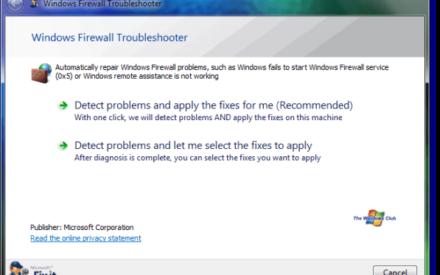 Solucionador de problemas del Firewall de Windows: Reparación y corrección de problemas con el Firewall de Windows