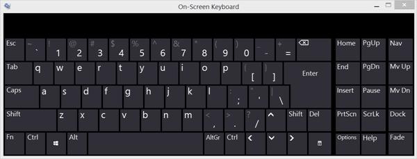 Teclado en pantalla de Windows: Opciones y ajustes 4