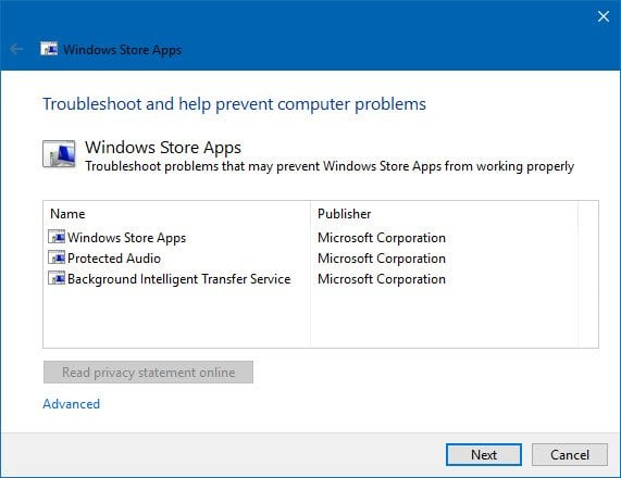Esta aplicación no puede abrirse, la aplicación no puede abrirse mientras el Control de cuentas de usuario está desactivado. 4