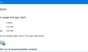Ha ocurrido algo malo, se ha especificado una distribución desconocida en el error manifiesto de Windows Store