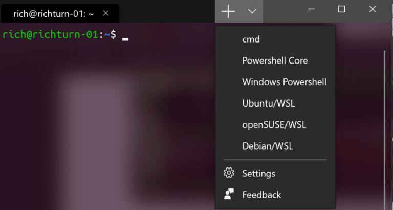 Windows Terminal Features - Nueva herramienta de línea de comandos de Microsoft 2