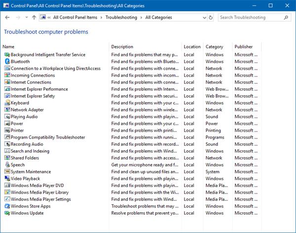Cómo ejecutar el Solucionador de problemas en Windows 10 para resolver problemas