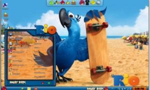 Descargar Windows 7 Angry Birds Skin Pack Installer para niños