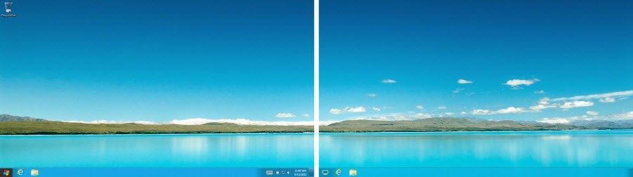Nuevas opciones de multimonitor introducidas en Windows 8