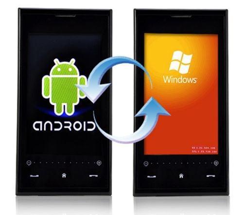 Cómo cambiar de Windows Phone a Android Phone