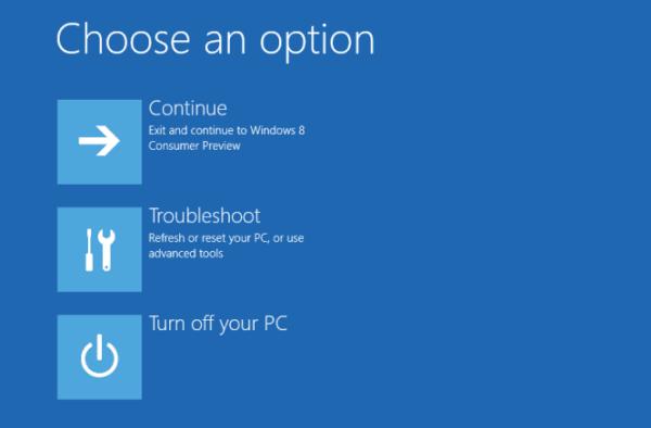 Windows 10 no se inicia; Reparación de inicio automática, Actualizar, Restablecer PC también falla 1