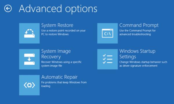 Cómo realizar una reparación de inicio automática en Windows 10