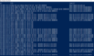 Cómo comprobar el historial de Windows Update con PowerShell