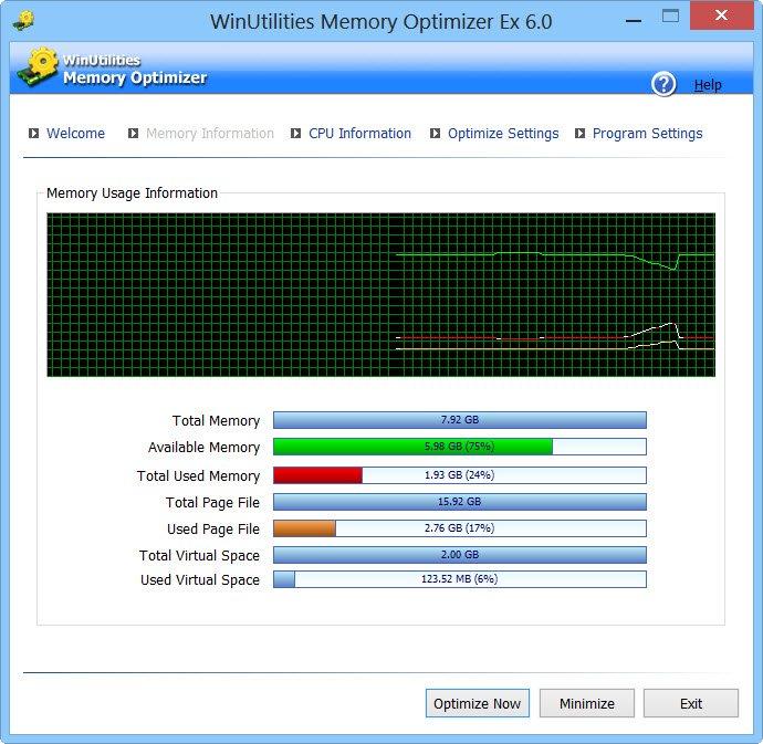 Optimizadores de memoria y amplificadores de RAM gratuitos para Windows 10/8/7