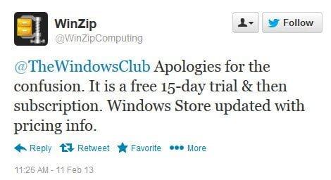 Descargar la aplicación WinZip para Windows 8 Gratis (No Gratis) 3