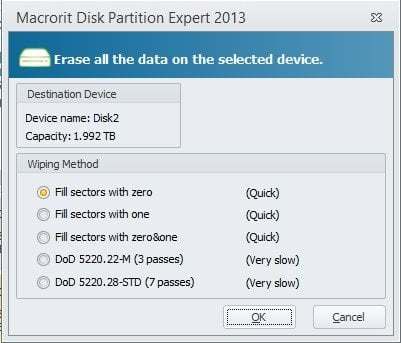 Macrorit Disk Partition Expert: Software gratuito de gestión de discos para Windows