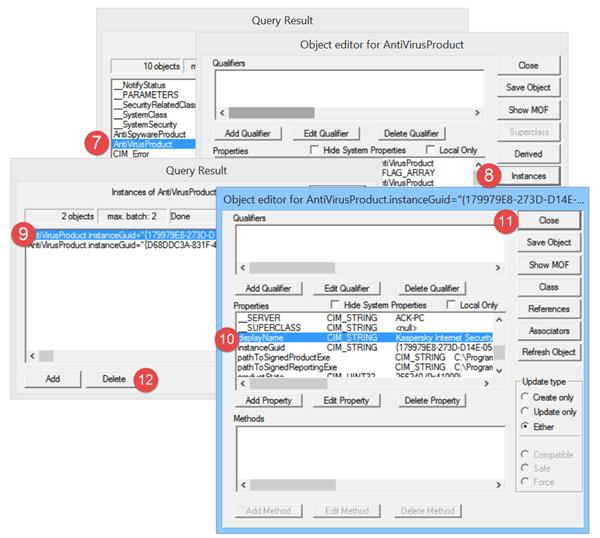 El Centro de actividades de Windows identifica el software de seguridad antiguo como instalado