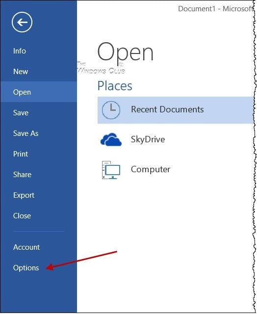 Desactivar la pantalla de salpicadura en los programas de Microsoft Office Word, Excel y PowerPoint 3