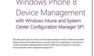 Administración de Windows Phone 8 con Windows Intune