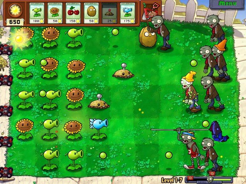 Regalo de Halloween: Descargar Plantas vs. Zombies gratis para Windows PC