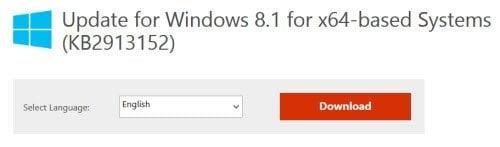 Descargar las actualizaciones de Windows manualmente en Windows 10