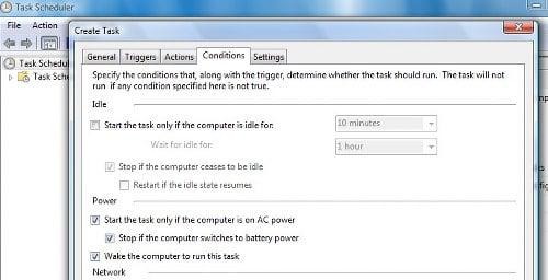 Despertar el equipo del modo de suspensión, en un momento determinado, en Windows 10/8/7