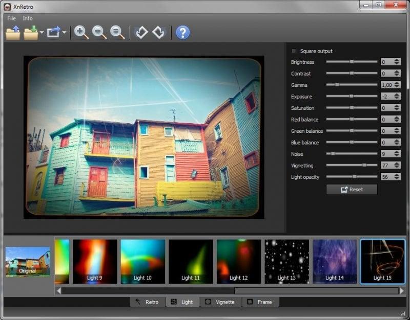 XnRetro: Añade efectos Retro y Vintage a las fotos