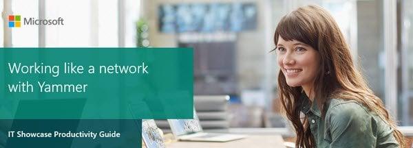 Guía de productividad de Yammer de Microsoft