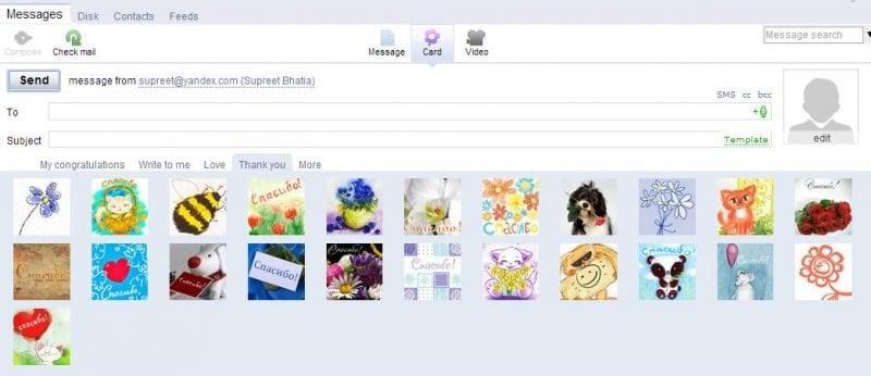 Yandex Mail Review: Servicio de correo electrónico gratuito con numerosas funciones 3