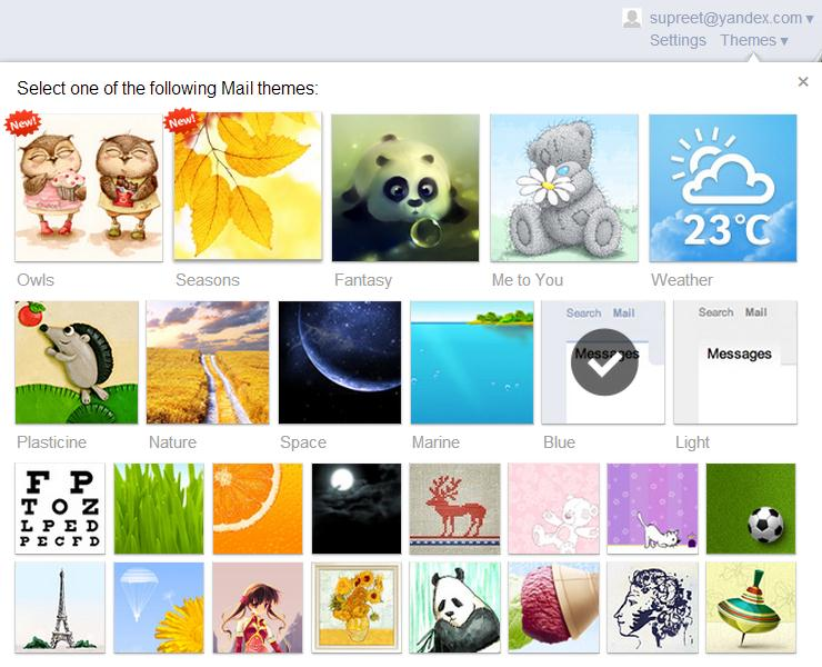 Yandex Mail Review: Servicio de correo electrónico gratuito con numerosas funciones 2