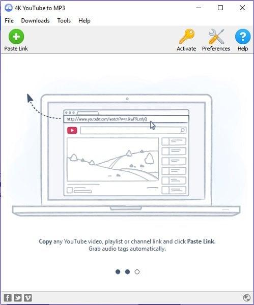Descarga gratuita de herramientas de 4K para descargar videos, imágenes y convertir medios de comunicación 2