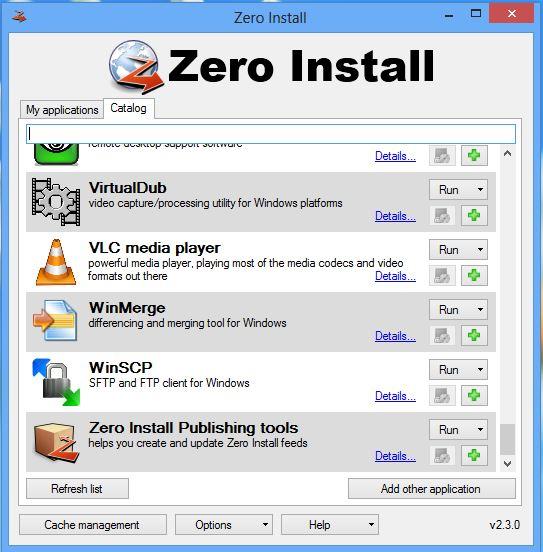 Instalación a cero Ejecute el software sin necesidad de instalarlo en su PC con Windows