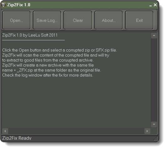 Cómo reparar archivos zip dañados y dañados