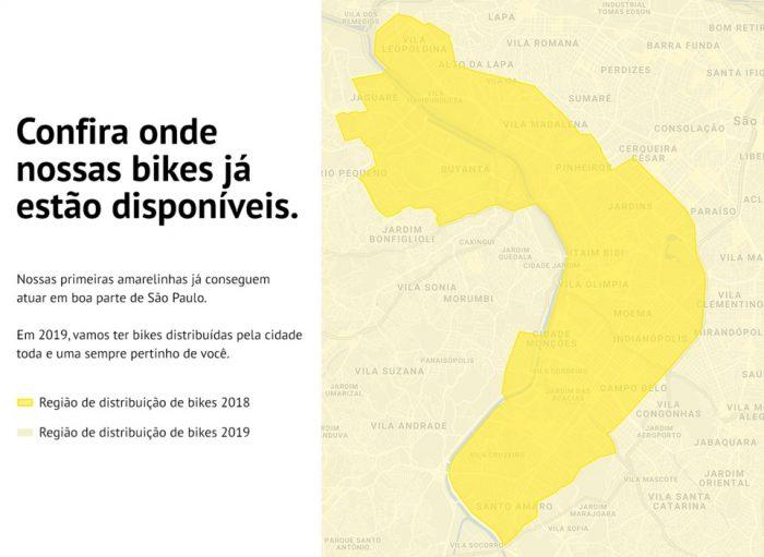 Yellow multará a $ 30 si dejan la bicicleta fuera del área 2