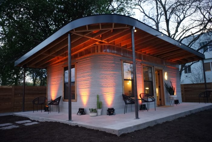 This house made with 3D printing was activated in 24 hours.  1