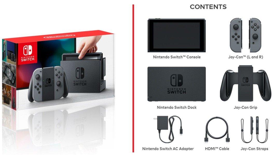 Nintendo Switch: precio, fecha de lanzamiento y primeros juegos 1