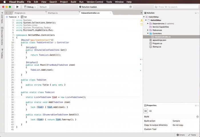 Microsoft anuncia Visual Studio para Mac 1