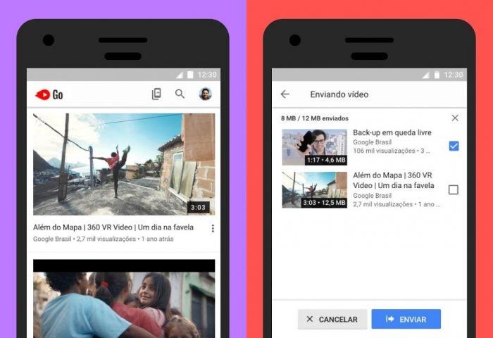 YouTube Go te permite guardar videos sin conexión en Brasil 2